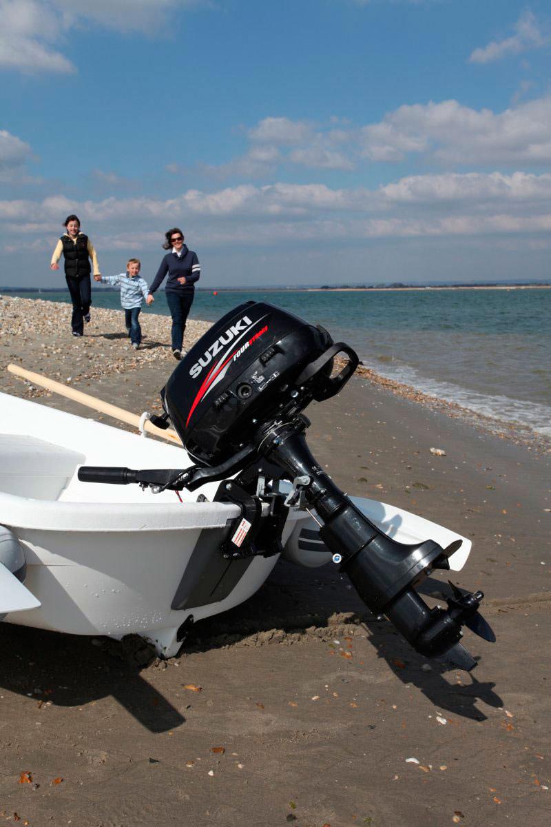 лодочные моторы suzuki 5 л.с схема охлождения