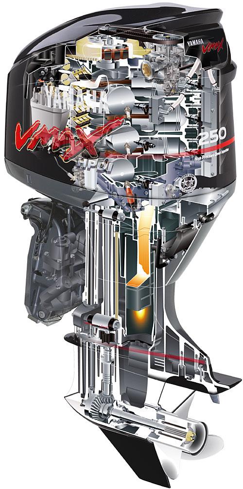 мотор лодочный yamaha 5 л с