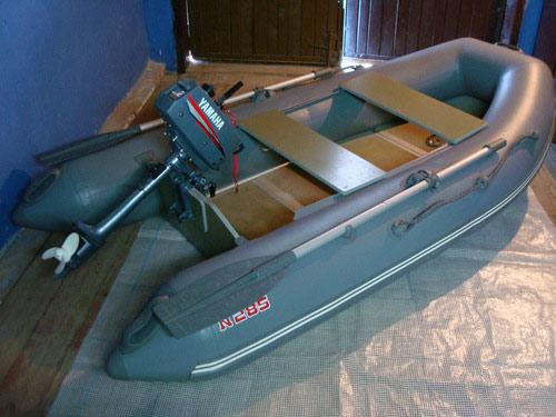 Лодка для мотора 5 л с своими руками